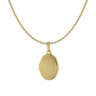 Acalee 30-3006 Damen-Halskette mit Medaillon Gold 333 / 8 Karat